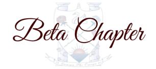 Beta Chapter
